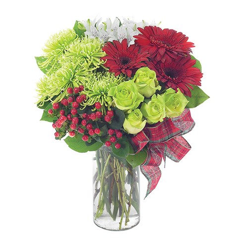 Holiday Surprise flower arrangements from Ingallina's Gifts